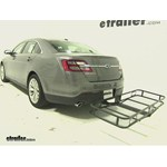 Pro Series Hitch Cargo Carrier Review - 2014 Ford Taurus