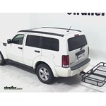 Pro Series Hitch Cargo Carrier Review   2008 Dodge Nitro