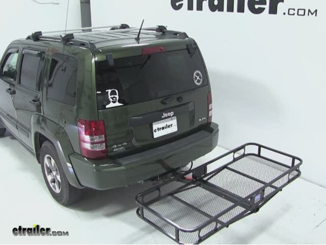 Pro Series Hitch Cargo Carrier Review 2008 Jeep Liberty Video