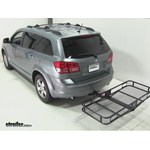 Pro Series Hitch Cargo Carrier Review - 2009 Dodge Journey