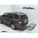 Pro Series Hitch Cargo Carrier Review - 2012 Toyota 4Runner