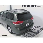 Pro Series Hitch Cargo Carrier Review - 2012 Toyota Sienna