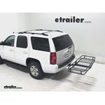 Pro Series Hitch Cargo Carrier Review - 2013 Chevrolet Tahoe
