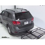 Pro Series Hitch Cargo Carrier Review - 2013 Dodge Journey