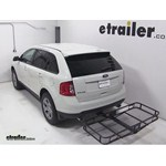 Pro Series Hitch Cargo Carrier Review - 2013 Ford Edge