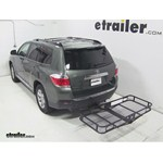 Pro Series Hitch Cargo Carrier Review - 2013 Toyota Highlander