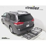 Pro Series Hitch Cargo Carrier Review - 2013 Toyota Sienna