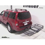 Pro Series Hitch Cargo Carrier Review - 2011 Nissan Pathfinder