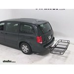 Pro Series Hitch Cargo Carrier Review - 2012 Dodge Grand Caravan