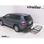 Pro Series Hitch Cargo Carrier Review - 2012 Toyota Highlander