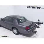 Pro Series Eclipse 4 Hitch Bike Rack Review - 2007 Ford Crown Victoria