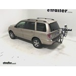 Pro Series Eclipse 4 Hitch Bike Rack Review - 2007 Honda Pilot