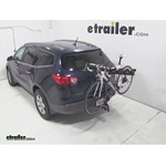 Pro Series Eclipse 4 Hitch Bike Rack Review - 2009 Chevrolet Traverse