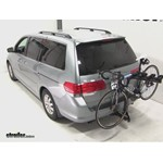 Pro Series Eclipse 4 Hitch Bike Rack Review - 2009 Honda Odyssey