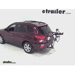 Pro Series Eclipse 4 Hitch Bike Rack Review - 2009 Hyundai Santa Fe