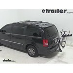 Pro Series Eclipse 4 Hitch Bike Rack Review - 2011 Chrysler Town and Country