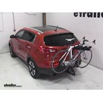 Pro Series Eclipse 4 Hitch Bike Rack Review - 2011 Kia Sportage