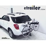 Pro Series Eclipse 4 Hitch Bike Rack Review - 2012 Chevrolet Equinox