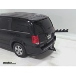 Pro Series Eclipse 4 Hitch Bike Rack Review - 2012 Dodge Grand Caravan