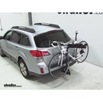 Pro Series Eclipse 4 Hitch Bike Rack Review - 2012 Subaru Outback Wagon