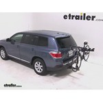 Pro Series Eclipse 4 Hitch Bike Rack Review - 2012 Toyota Highlander