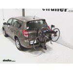 Pro Series Eclipse 4 Hitch Bike Rack Review - 2012 Toyota RAV4