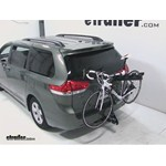 Pro Series Eclipse 4 Hitch Bike Rack Review - 2012 Toyota Sienna