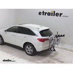 Pro Series Eclipse 4 Hitch Bike Rack Review - 2013 Acura RDX