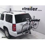 Pro Series Eclipse 4 Hitch Bike Rack Review - 2013 Chevrolet Tahoe