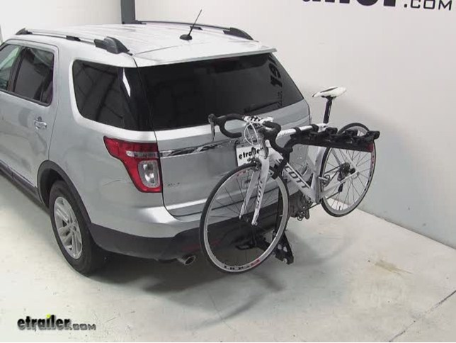 Best ford explorer bike racks etrailer pro series eclipse 4 hitch bike rack review 2013 ford explorer sciox Image collections