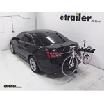 Pro Series Eclipse 4 Hitch Bike Rack Review - 2013 Ford Taurus