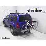 Pro Series Eclipse 4 Hitch Bike Rack Review - 2013 Nissan Xterra