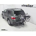 Pro Series Eclipse 4 Hitch Bike Rack Review - 2013 Toyota Highlander