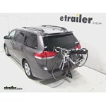 Pro Series Eclipse 4 Hitch Bike Rack Review - 2013 Toyota Sienna