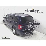 Pro Series Eclipse 4 Hitch Bike Rack Review - 2014 Chrysler Town and Country