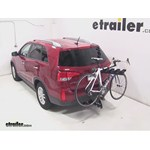 Pro Series Eclipse 4 Hitch Bike Rack Review - 2014 Kia Sorento