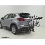 Pro Series Eclipse 4 Hitch Bike Rack Review - 2015 Mazda CX-5