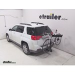 Pro Series Eclipse 4 Hitch Bike Rack Review - 2013 GMC Terrain