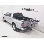 Pro Series Eclipse 4 Hitch Bike Rack Review - 2013 Toyota Tacoma