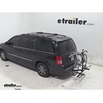 Pro Series Q-Slot 2 and 4 Bike Hitch Bike Rack Review - 2011 Chrysler Town and Country