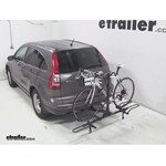 Pro Series Q-Slot 2 and 4 Bike Hitch Bike Rack Review - 2011 Honda CR-V
