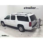 Pro Series Q-Slot 2 and 4 Bike Hitch Bike Rack Review - 2013 Chevrolet Suburban