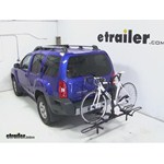 Pro Series Q-Slot 2 and 4 Bike Hitch Bike Rack Review - 2013 Nissan Xterra