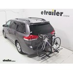 Pro Series Q-Slot 2 and 4 Bike Hitch Bike Rack Review - 2013 Toyota Sienna