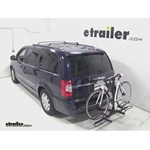 Pro Series Q-Slot 2 and 4 Bike Hitch Bike Rack Review - 2014 Chrysler Town and Country