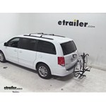 Pro Series Q-Slot 2 and 4 Bike Hitch Bike Rack Review - 2014 Dodge Grand Caravan