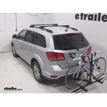 Pro Series Q-Slot 2 and 4 Bike Hitch Bike Rack Review - 2014 Dodge Journey