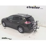 Pro Series Q-Slot 2 and 4 Bike Hitch Bike Rack Review - 2014 Nissan Rogue