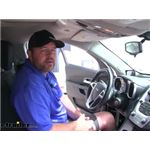 Rear View Safety Backup Camera System Installation - 2010 Chevrolet Equinox