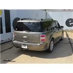 Rear View Safety Backup Camera System Installation - 2012 Ford Flex